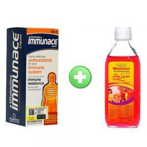 immunace + medizinc