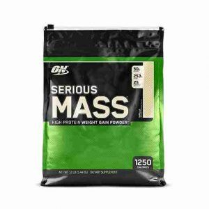 Serious Mass Protein Weight Gain Powder 12LB