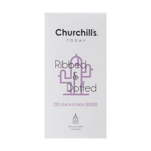 Churchills Ribbed And Dotted Condom do good