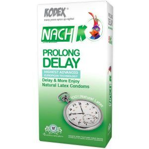 Nach Kodex Prolong delay Condom