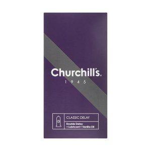 کاندوم کلاسیک دیلی چرچیلز تاخیری churchills classic delay condom
