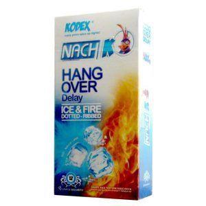 kodex hang over delay ice & fire condom