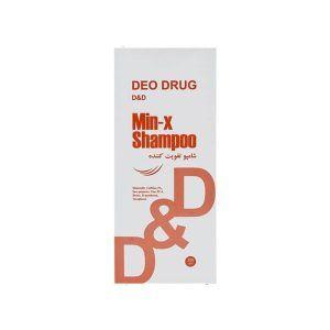 شامپو تقویت کننده مو دئودراگ ماین ایکس DEO DRUG Min-X Hair Shampoo