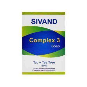 صابون جوش لایه بردار کامپلکس تری سیوند SIVAND Complex 3 Soap