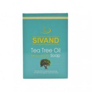 صابون ضد جوش آکنه تی تری سیوند SIVAND Tea Tree Oil Soap