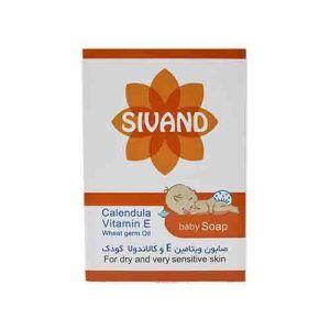 صابون کودک کالاندولا ویتامینE سیوند SIVAND Calendula baby soap
