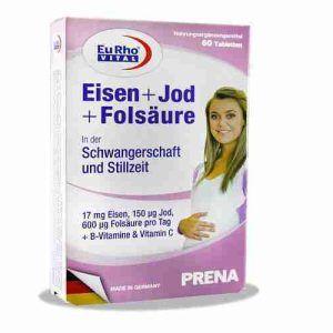 Eisen and Iodine and Folic Acid