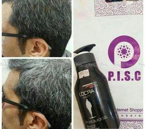ژل حالتدهنده قوی موی سر کراتینه مردانه بلک لدورا L'DORA MEN HAIR STYLING BLACK GEL-