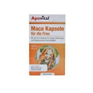 کپسول ماکا آپوویتال تقویت میل جنسی بانوان 30عدد Apovital Maca
