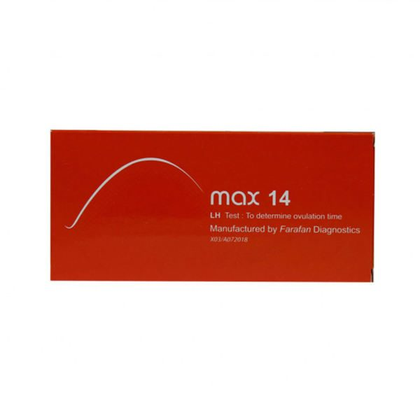 تست سریع تخمک گذاری مکث ۱۴ max 14 LH Test
