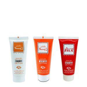 کرم ضدآفتاب رنگی فاقد چربی SPF30 دکتر ژیلا DR JILA Tinted SunScreen SPF30-