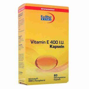 Vitamin E 400 Eurho Vital