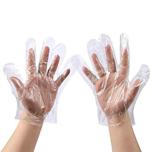 دستکش نایلونی یکبار مصرف Disposable Nylon Gloves