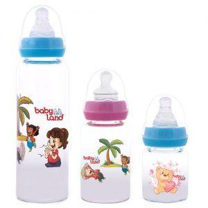 Baby Land Pyrex classic baby bottles