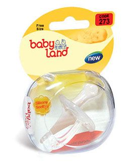 Baby land All Silicone Orthodontic Soother