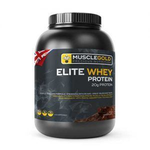 پروتئین الیت وی ماسل گولد Muscle Gold Elite Whey Protein Powder