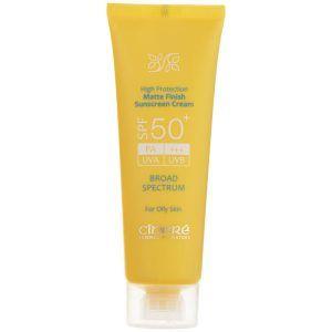 کرم ضد آفتاب بدون رنگ +SPF50 سینره سلام دارو